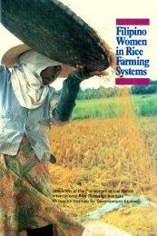Filipino women in rice farming systems / University of ... - IRRI books