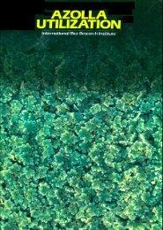Azolla - IRRI books - International Rice Research Institute