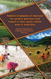 Patterns of adoption.indb - IRRI books - International Rice Research ...