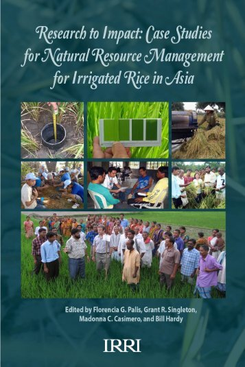 Research to impact case studies for natural resource ... - IRRI books