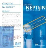 Kontaktinformation Über Neptun - ETH Zürich