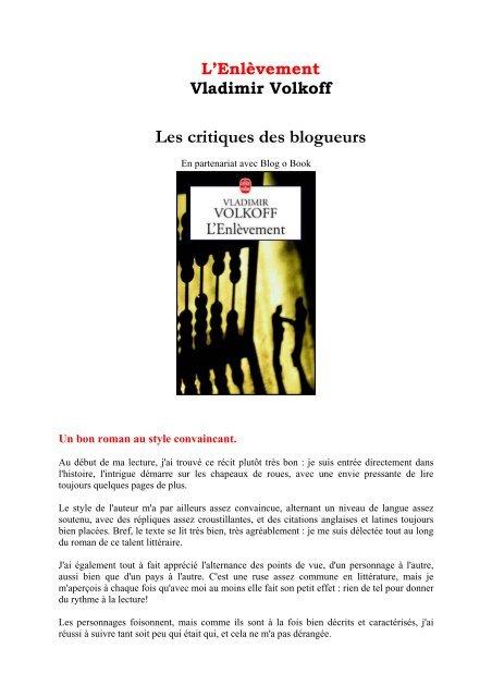 Les Critiques Des Blogueurs Livre De Poche