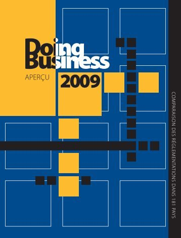 Doing Business 2009 - Transparency
