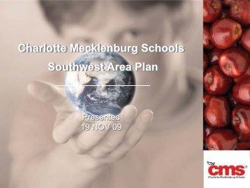 Charlotte Mecklenburg Schools Southwest Area Plan