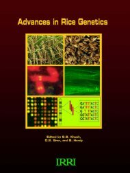 Advances in Rice Genetics - IRRI books - International Rice ...