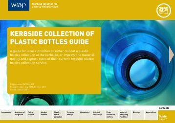 Kerbside collection of plastic bottles guide (1.59 MB) - Wrap