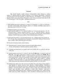 č.j. 007 EX 1674/04 - 65 Usnesení Mgr. Kamil Brančík, soudní ...