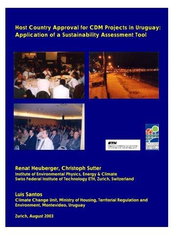 PDF 1.6 MB - ETH - UP - Environmental Physics