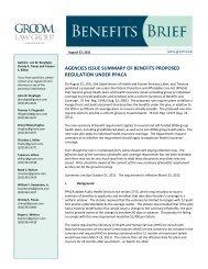 agencies issue summary of benefits proposed regulation under ppaca