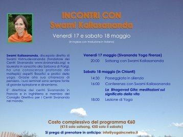 programma - Sivananda Yoga Firenze