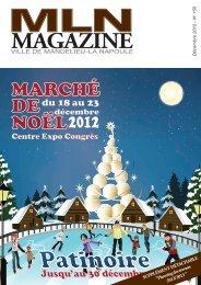 MLN Magazine de decembre 2012 - Mandelieu La Napoule
