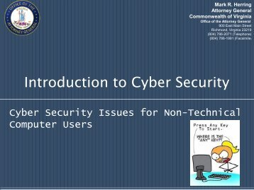 Cyber Security Presentation - Office of the Attorney General ...