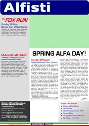 ARN2012_4 web version.pub - Alfa Romeo Owners Club