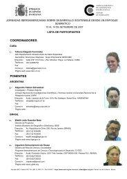 Lista - RedGeomatica