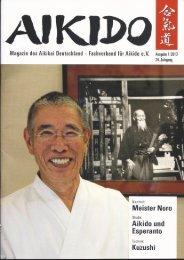 Artikel lesen... - Aikido Ikeda Dojo Zürich