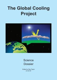 science dossier - The Global Cooling Project