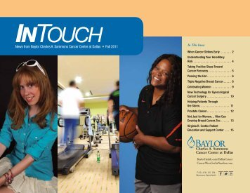 Fall 2011 - Baylor Health Care System