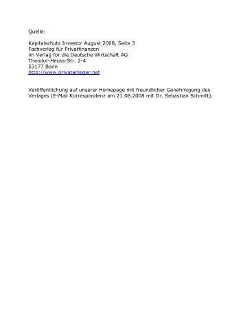 PI_2008_10:Layout 4 - Einkaufsgemeinschaft für Gold und Silber GbR