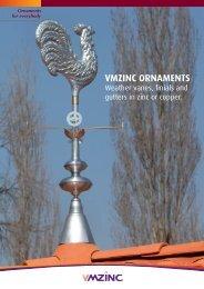 VMZINC ORNAMENTS - vmzinc uk