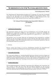 Entscheidung Nr. 799/2011 - Nationalfonds der Republik Österreich ...