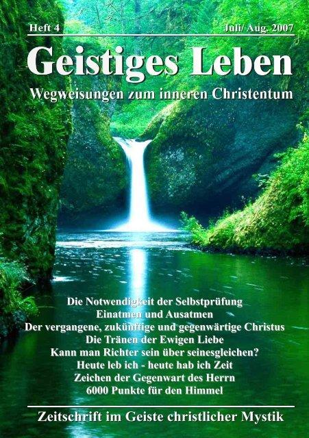 GL 4/2007 - der Lorber-Gesellschaft eV