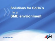 Solutions For SoHo´s In A - ICT Summit