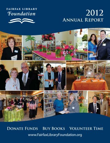 Annual Report - Fairfax Library Foundation