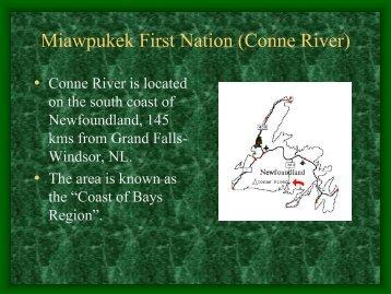 Miawpukek First Nation (Conne River)
