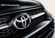 RAV4 Accessories - Toyota