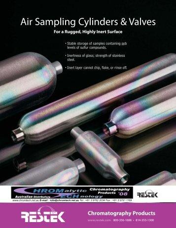 Air Sampling Cylinders & Valves
