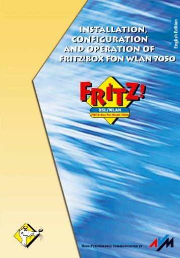 FRITZ!Box WLAN 7050 - Phone Master