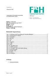 2. Protokoll Sitzung FSR7 SS12
