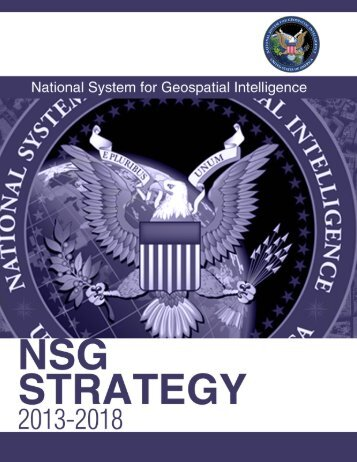 NSG Strategy - National Geospatial-Intelligence Agency