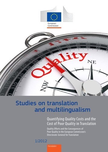 Studies on translation and multilingualism - Poliglotti 4