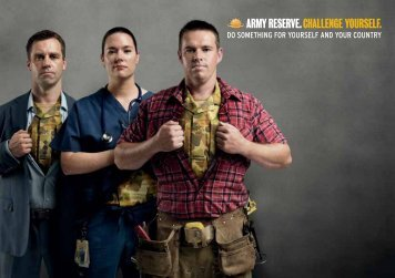 Army Reserve Information - Australian Defence Force Recruiting