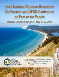Conference Program - Society of Outdoor Recreation Professionals