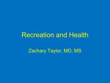 Zachary Taylor, Regional Health Administratory, Health and Human ...