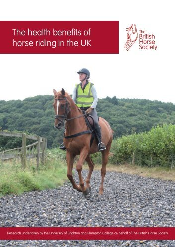 The health benefits of horse riding in the UK - British Horse Society