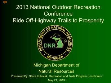 Stephan Kubisiak, Michigan Department of Natural Resources, USA
