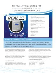 THE REAL UVT ONLINE MONITOR ORTHO-BEAM ... - Thermo Fisher