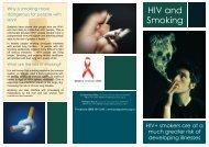 HIV and Smoking - Body Positive