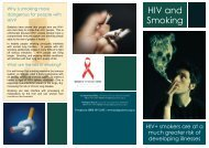 HIV and Smoking - Body Positive