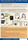 Inbetriebnahme Ihrer HomeWay-Anlage + Informationen für Service ... - Seite 2