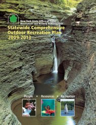 New York SCORP - Society of Outdoor Recreation Professionals