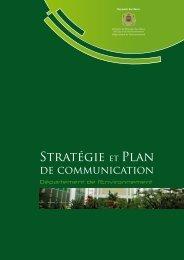 Stratégie et Plan - Département de l'environnement