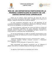 de 100 deportistas participan en la primera competición de karate ...