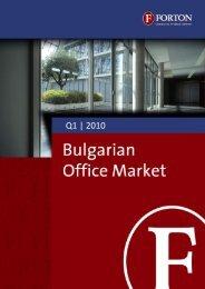 Bulgarian Office Market – Q1, 2010.pdf - Forton