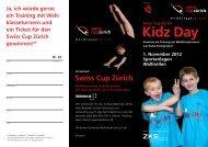 Kidz Day - Swiss Cup Zürich