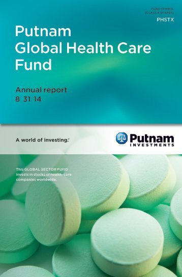 Global Health Care Fund Annual Report - Putnam Investments
