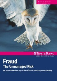 Fraud – The Unmanaged Risk